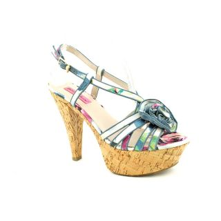 Betsey Johnson Womens Circle Fabric Sandals Today $60.99 Sale $54