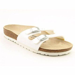 slippers Ibiza from Birko Flor in White with a narrow insole Shoes