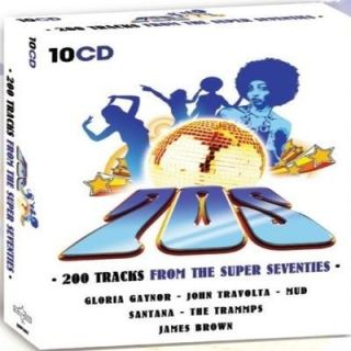 COMPILATION 70S 200 TRACKS FROM THE SUPER SEVENTIES   Compilation