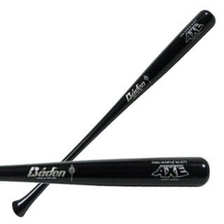 Baden AXE Pro Maple Wood Baseball Bats (L104) BLACK 32