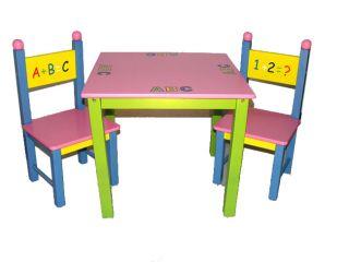 123 Kids Table & Chair Set