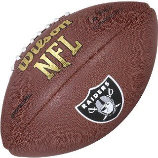 Oakland Raiders Logo Official Football: Sports & Outdoors