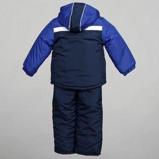 iXtreme Boys Navy Colorblock Two piece Snowsuit Set