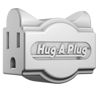 Hug a plug Dual Outlet 125v Adapter Plug (Pack of 6)