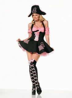 Womens Sexy Pirate Costume
