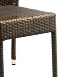 Hamptons Bay Wicker Stackable Outdoor Chairs (Set of 2)