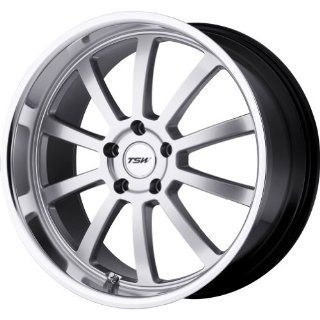 TSW Alloy Wheels Willow Hyper Silver Machined Wheel (20x8.5/5x114.3mm