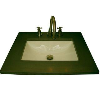 22 Inch Pedestal Sink : Ceramic 22.125 inch Biscuit Pedestal Sink