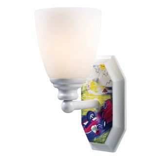 Elk Lighting Automobiles 1 Light White Wall Sconce Today $66.00