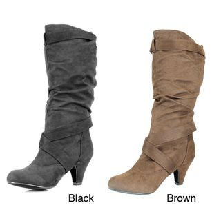 Stanzino Womens Carla Mid Calf Boots