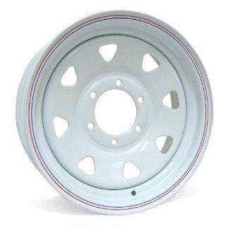 14x6 Sendel S62 (White) Wheels/Rims 5x114.3 (S62 46545)