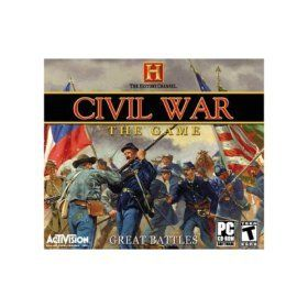 The History Channel   Civil War The Game Software