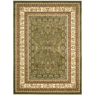 Lyndhurst Collection Sage/ Ivory Rug (9 x 12)