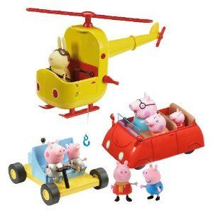 Peppa Pig Multi Vehicle Playset Toys & Games