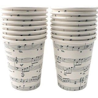 Sheet Music Paper Cups 9oz Toys & Games