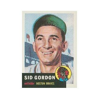 1991 Topps Archives 1953 #117 Sid Gordon Collectibles