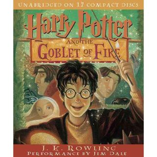 Harry Potter and the Goblet of Fire (CD Audio)