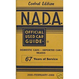 NADA Used Car Guide   Central Edition   February, 2000
