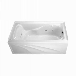 American Standard Arctic White Acrylic Skirted Jetted Whirlpool Tub