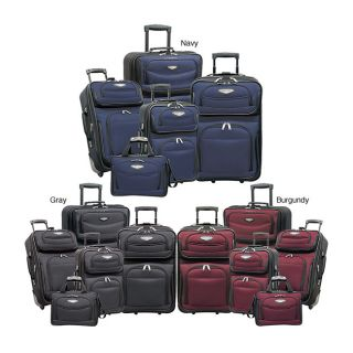 Travel Select Amsterdam 5 piece Expandable Rolling Luggage Set