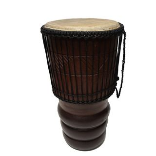 Handmade Tall Bongo Drum (Ghana)