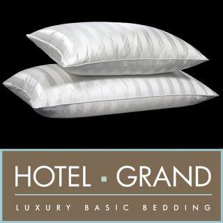 Hotel Grand Silk 1300 Thread Count Siberian White Down Pillow