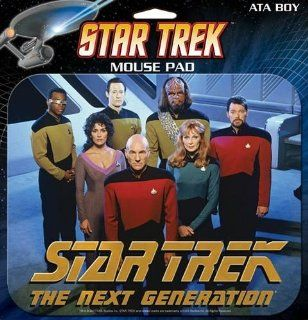 Star Trek TNG The Next Generation Cast Mouse Pad: Office