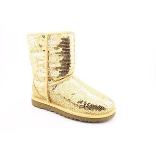 Ugg Australia Womens Classic Short Sparkles Basic Textile Boots