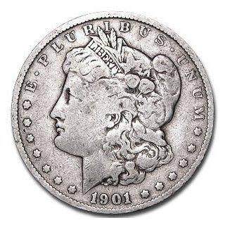 1901 Morgan Silver Dollar   Very Fine