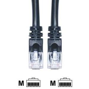 20 foot CAT 5E Black Ethernet Cable (Pack of 5)