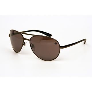 Field and Stream Mens Klamath Dark Satin Light Gun Sunglasses