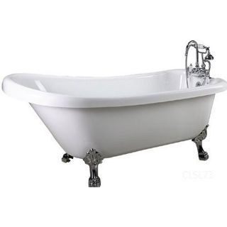 kohler tea for two drop in clawfoot tub 850 0 white