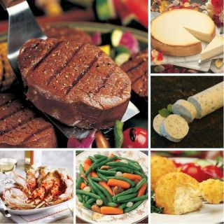 Steak and Crab Legs Dinner