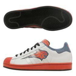 Adidas Mens Charlotte Bobcats Superstar 1 Shoes