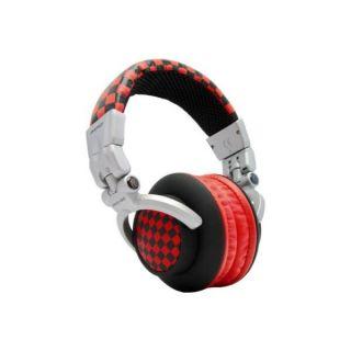 Omenex KSK DJ150 Checked red   Achat / Vente CASQUE  ECOUTEUR Omenex