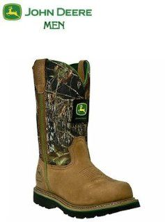 John Deere Agriculture Series Non Steel Toe 11 Pull On JD4148: Shoes