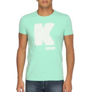 CALVIN KLEIN JEANS T Shirt Homme Vert clair   Achat / Vente T SHIRT