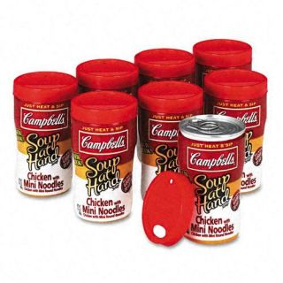 Campbells Chicken Mini Noodle Soup at Hand
