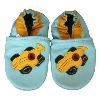 Baby Pie Race Car Leather Boys Shoes