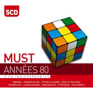 ANNEES 80   Compilation (5CD)   Achat CD COMPILATION pas cher