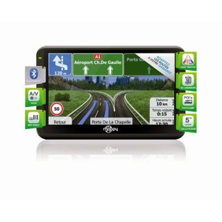 GPS camping car Mappy Uli X570 Camp   Ecran 5   Carographie Navech