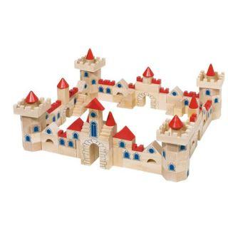 Jeu de construction en bois Château 145 pièces   Achat / Vente JEU