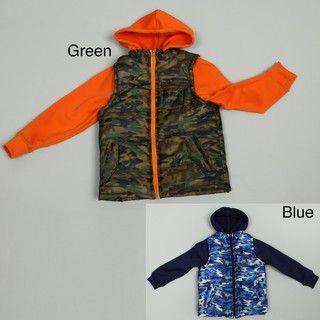 iXtreme Big Boys Puffer Camo Jacket FINAL SALE