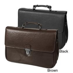 Kenneth Cole New York No One in Port icular Leather Laptop Case