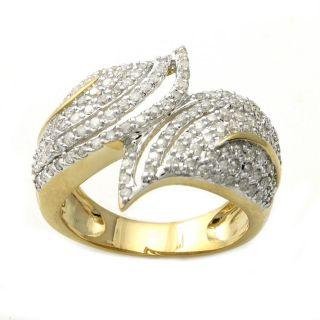 14k Yellow Gold 1ct TDW Diamond Ring (H I, I2)