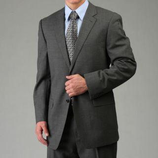 MICHAEL Michael Kors Mens Grey Wool Suit