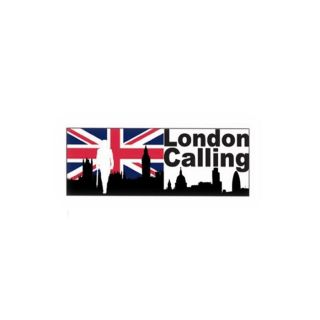 CADRE TOILE LONDON CALLING 160 x 60 cm   Achat / Vente TABLEAU