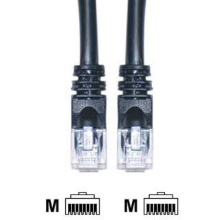10 foot CAT 6E Black Ethernet Cable (Pack of 5)