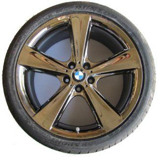 Star Spoke 128 in Midnight Chrome   Complete Wheel Set w/ Tires for