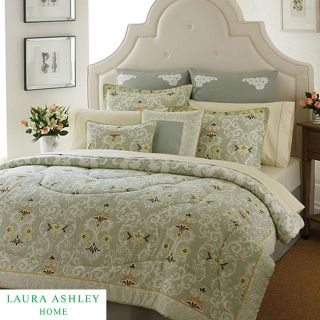 Laura Ashley Sheffield 3 piece Full size Comforter Set